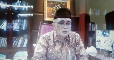 Pembinaan Virtual Wakil Ketua MA RI Bidang Non Yudisial Tentang Pengawasan Hakim